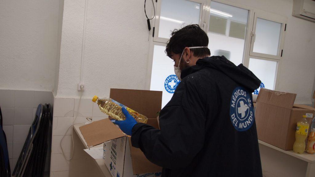 Donación de alimentos en Covid19